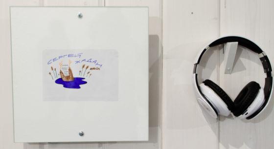 Фотоотчёт. Открытие выставки-инсталляции «Голос — стих» (2017)