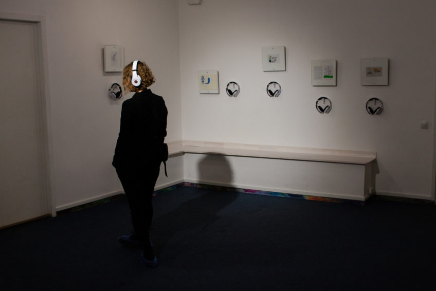 Видеоотчёт. Открытие выставки-инсталляции «Голос — стих» (2017)
